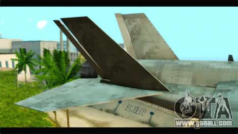 Mammoth Hydra v1 for GTA San Andreas back left view