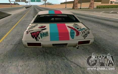 Clover Blink-182 Edition for GTA San Andreas right view