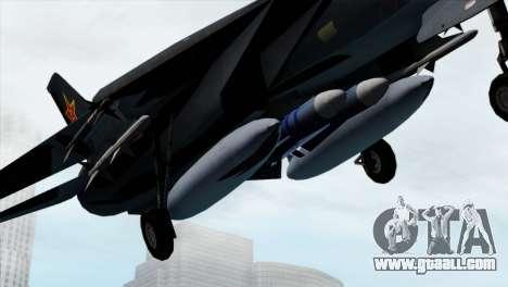 F-14 China Air Force for GTA San Andreas right view