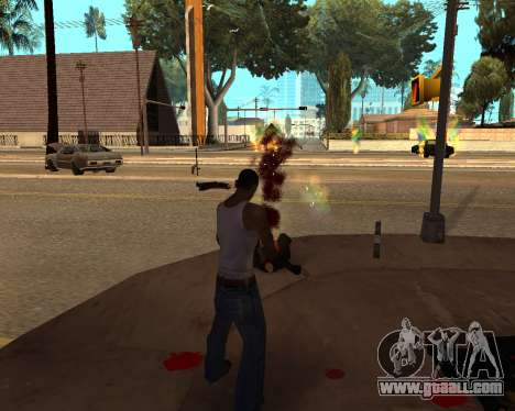 Rainbow Effects for GTA San Andreas third screenshot
