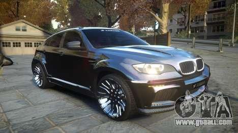 HAMANN BMW X6 2011 Tycoon EVO M v1.0 TSE for GTA 4 inner view