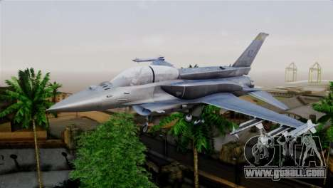EMB F-16F Fighting Falcon US Air Force for GTA San Andreas