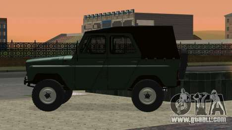 UAZ 469 for GTA San Andreas back view