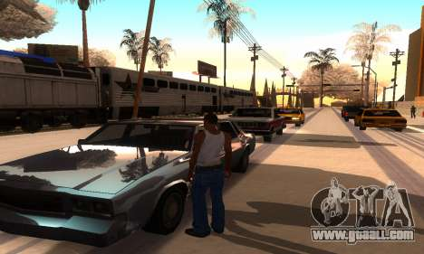 ENB Series for medium PC for GTA San Andreas