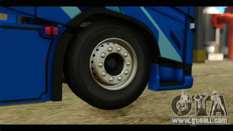Volvo FH4 Ocean Race for GTA San Andreas back left view