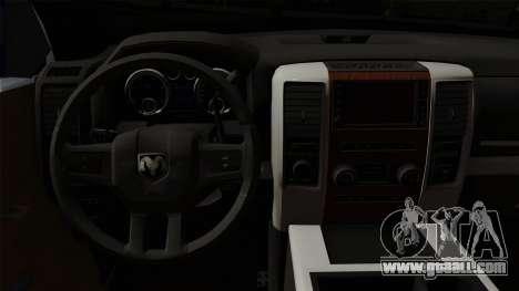Dodge Ram QuickSilver for GTA San Andreas right view