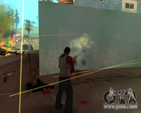Rainbow Effects for GTA San Andreas forth screenshot