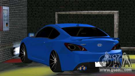 Hyundai Genesis Coupe for GTA San Andreas right view