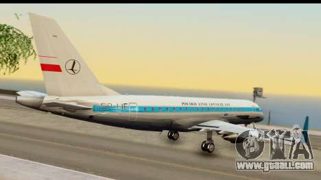Embraer 175 PLL LOT Retro for GTA San Andreas left view