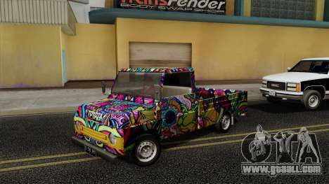 Toyota Kijang KF10 for GTA San Andreas right view