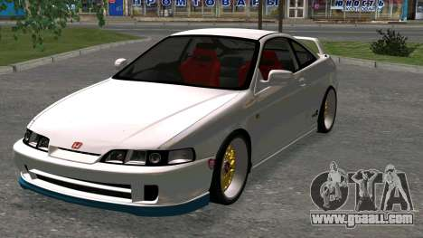 Honda Integra Type R 2000 for GTA San Andreas right view