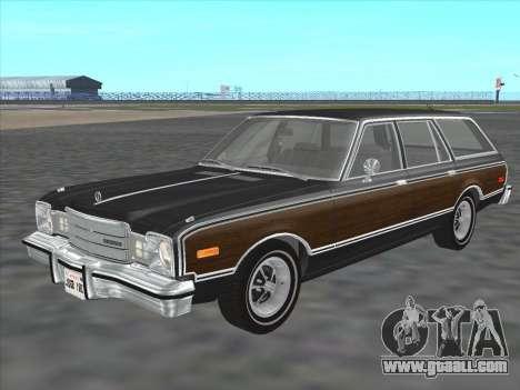 Plymouth Volare Wagon 1976 wood for GTA San Andreas