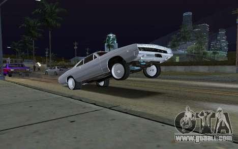Car Wheelie for GTA San Andreas