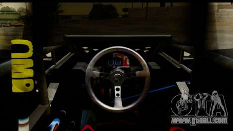Flip Car 2012 for GTA San Andreas back view