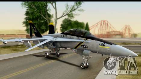 FA-18D VFA-103 Jolly Rogers for GTA San Andreas