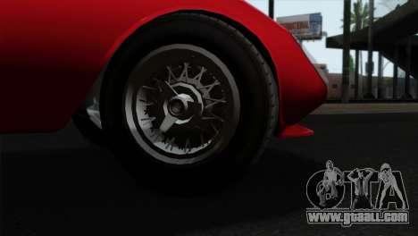 GTA 5 Grotti Stinger GT v2 IVF for GTA San Andreas back left view