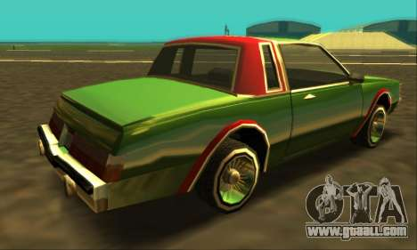 Majestic Restyle for GTA San Andreas engine