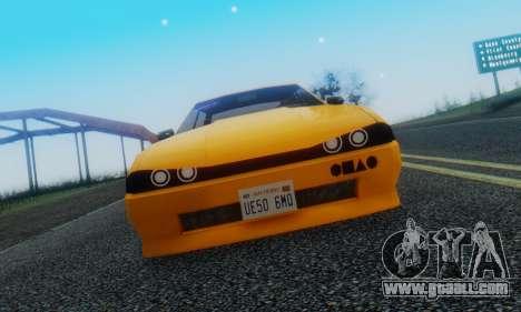 Elegy Hatchback v.1 for GTA San Andreas