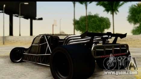 Flip Car 2012 for GTA San Andreas left view