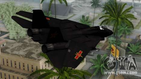 F-14 China Air Force for GTA San Andreas left view