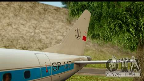 Embraer 175 PLL LOT Retro for GTA San Andreas side view