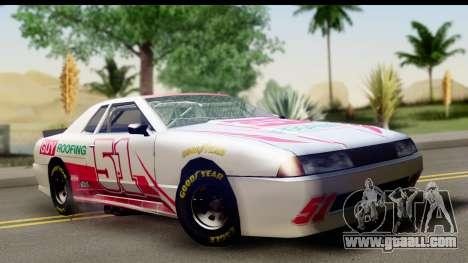 Elegy NASCAR for GTA San Andreas inner view