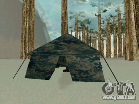 Tent for GTA San Andreas