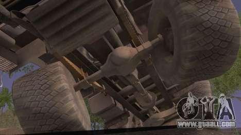 KamAZ 43101 for GTA San Andreas right view