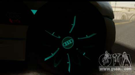 Audi A9 Concept for GTA San Andreas back left view