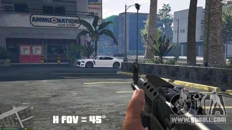 GTA 5 FOV mod v1.3 third screenshot