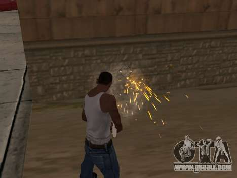 Overdose effects (without dust) for GTA San Andreas second screenshot