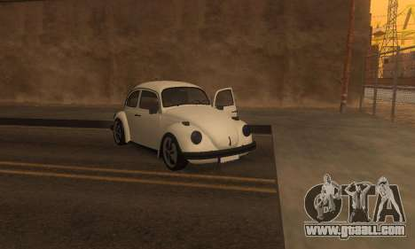 Volkswagen Beetle 1984 for GTA San Andreas side view