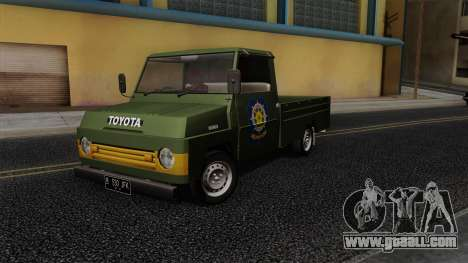 Toyota Kijang KF10 for GTA San Andreas inner view