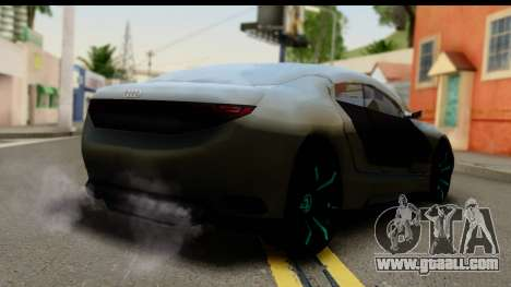 Audi A9 Concept for GTA San Andreas left view
