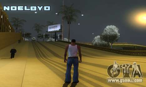 ENB Series v077 Light Effect for GTA San Andreas fifth screenshot