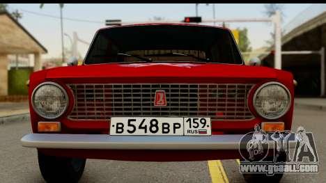 VAZ 2101 FOX for GTA San Andreas back left view