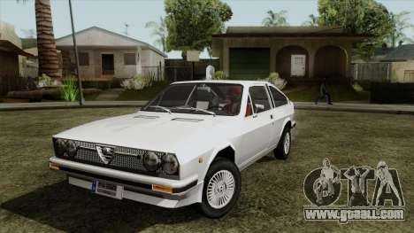 Alfa Romeo Alfasud Sprint for GTA San Andreas