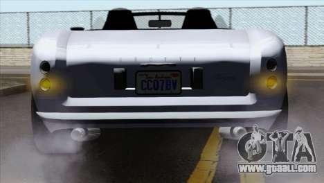 GTA 5 Grotti Stinger v2 IVF for GTA San Andreas back view