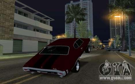Car Wheelie for GTA San Andreas third screenshot