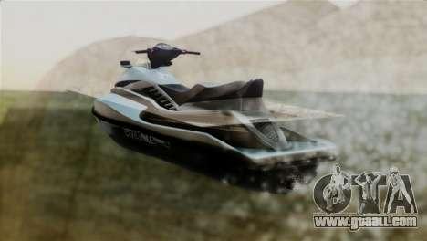 Seashark from GTA 5 for GTA San Andreas left view