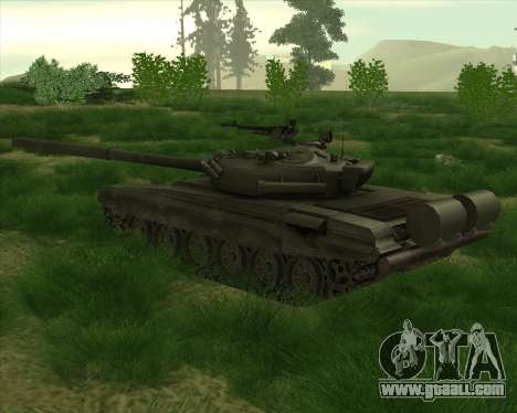 T-72 for GTA San Andreas right view