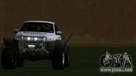 VAZ 2190 Grant for GTA San Andreas back view