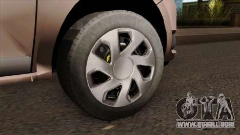 Dacia Logan MCV 2013 IVF for GTA San Andreas back left view