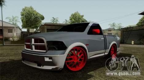 Dodge Ram QuickSilver for GTA San Andreas
