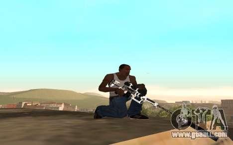 Skeleton Weapon Pack for GTA San Andreas third screenshot
