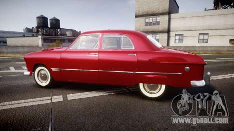 Ford Custom Fordor 1949 v2.2 for GTA 4 left view
