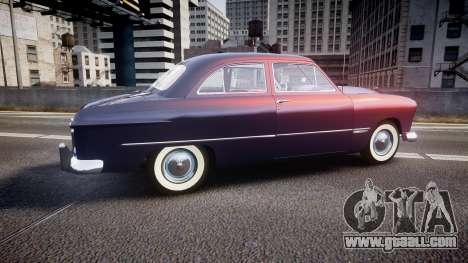 Ford Custom Tudor 1949 v2.2 for GTA 4 left view