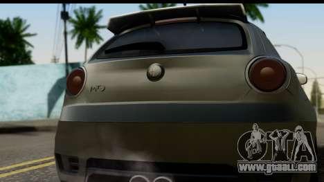 Alfa Romeo Mito Tuning for GTA San Andreas right view