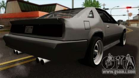 Buffalo Supercharged for GTA San Andreas left view