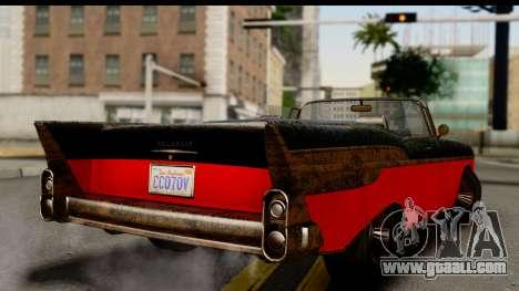 GTA 5 Declasse Tornado Worn IVF for GTA San Andreas left view